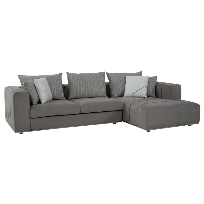 silvia sectional sofa w right chaise