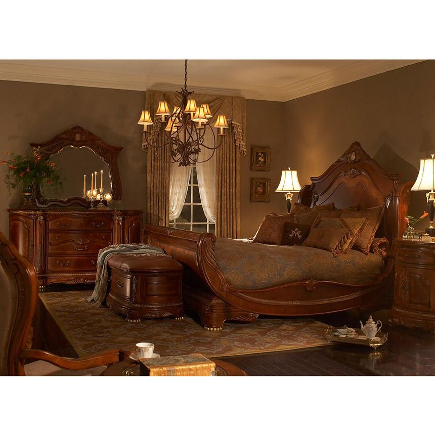 For centuries, greedy men scoured the unknown interior of south america for the legendary city of el dorado. Cortina King Sleigh Bed | El Dorado Furniture
