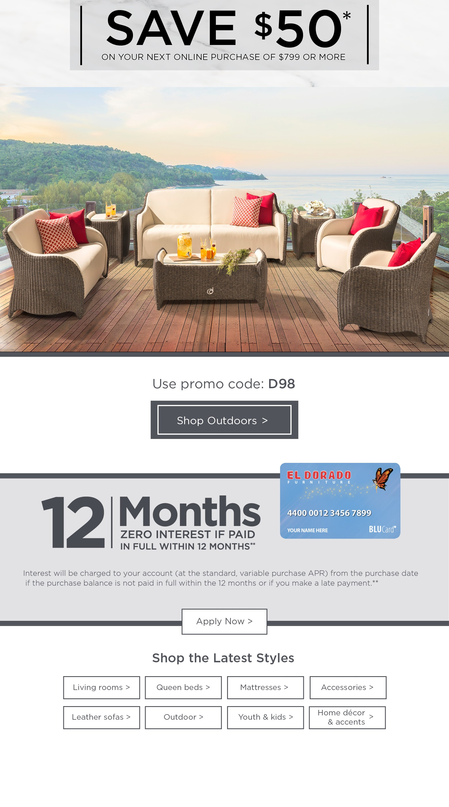 El Dorado Furniture Credit Card Cardjdi Org
