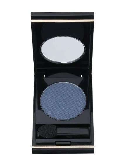 "Deep blue is the best bet for daytime, office-appropriate cat eyes—it also animates brown eyes without looking severe (as black sometimes does). ""It creates a slight but eye-catching contrast,"" says Warren. We like Elizabeth Arden Color Intrigue Eyeshadow in Indigo and Sonia Kashuk Eye Definer in Blue Jean."
