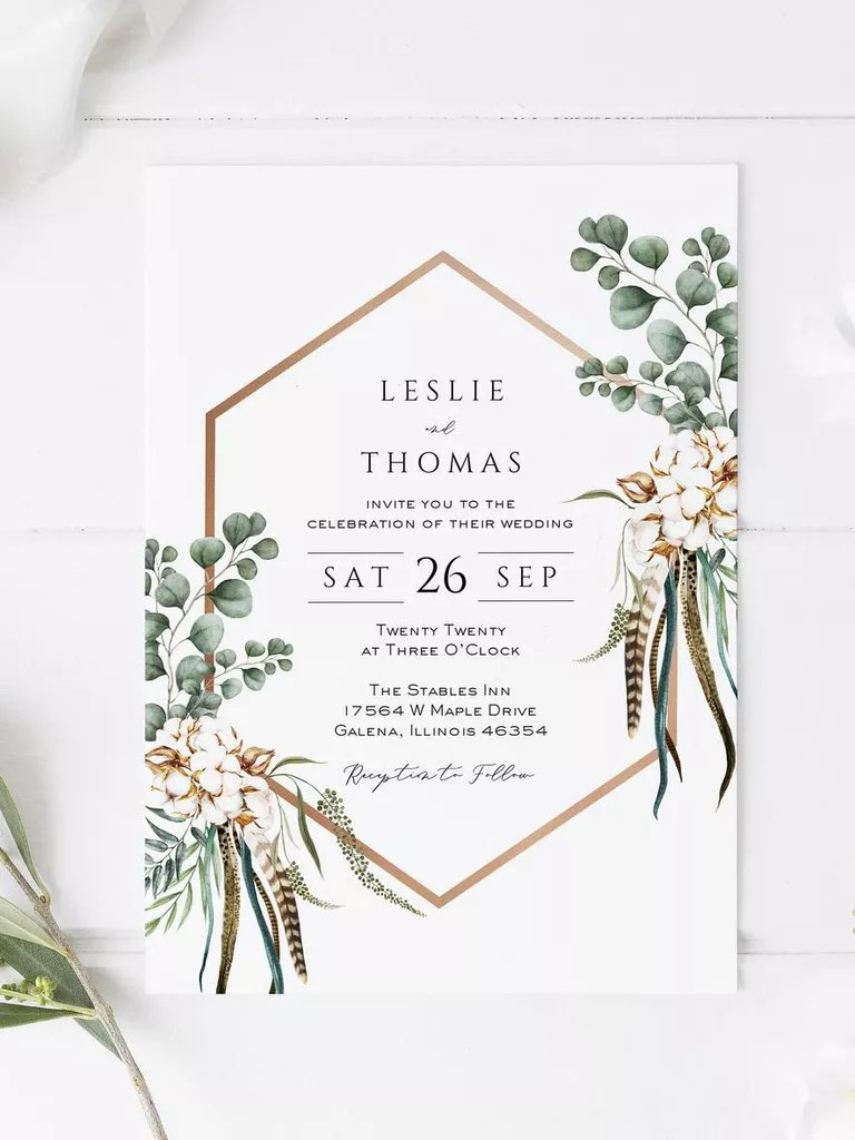 Check out the editable invitations in microsoft word right here. 21 Wedding Invitation Templates You Can Print Yourself