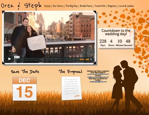 Most Creative Wedding Website Ideas We've Ever Seen