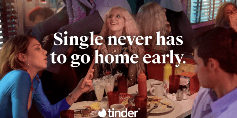 Image result for tinder advert singlenotsorry