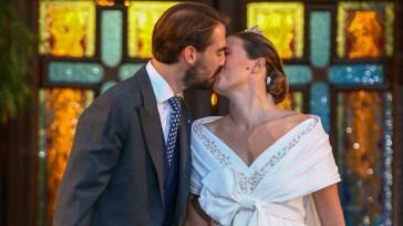 Philippos di Grecia e Nina Flohr, le bellissime foto del (secondo) royal wedding