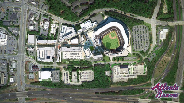 BRAVES PARKING: Here's where to park at the new Atlanta ...