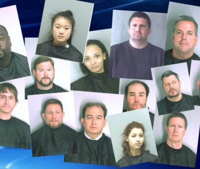 Authorities Say More Than  People Are Facing Charges After An Alleged Escort Ring Was Busted In Metro Atlanta