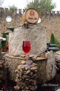Tonneau de vin en développement durable