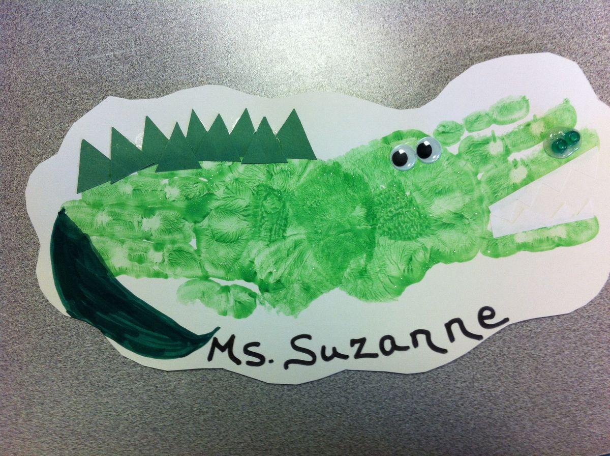 Alligator Crafts Alligators And Preschool