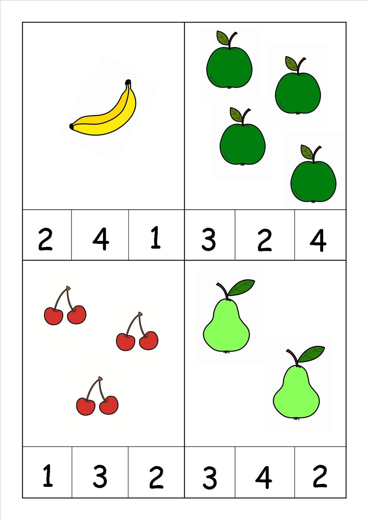 Images About Pre K Number Worksheets