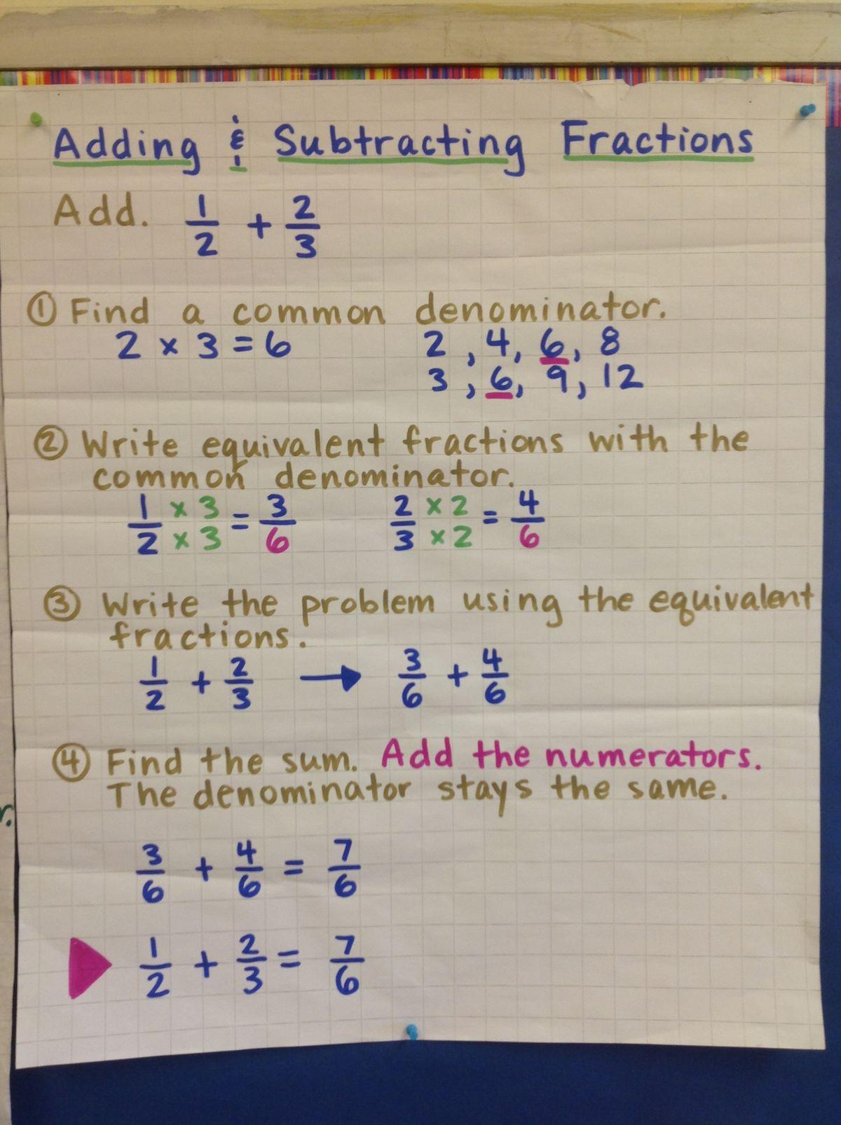 Images About Math Fractions Amp Decimals