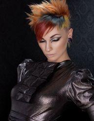 NAHA 2013 Finalist: Haircolor DeAnnalyn Teal Photographer: Keith Bryce