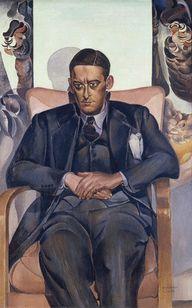 Wyndham Lewis ~ T.S. Eliot, 1938