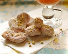 Iranian Goosh-e Fil (lit. elephant's ear) is a deep-fried dough, in the shape of a flat elephant's ear, then covered with powdered sugar.