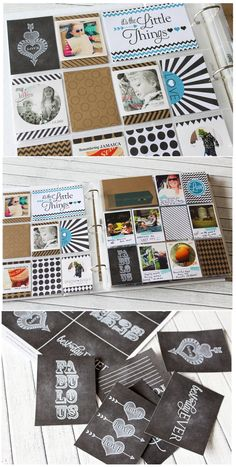 Project Life Debut {Freebie Alert} | Inspired By Peanut & Bean