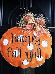 Burlap Door Hanger Template | ... ://www.etsy.com/listing/160334177/happy-fall-yall-burlap-pumpkin-door
