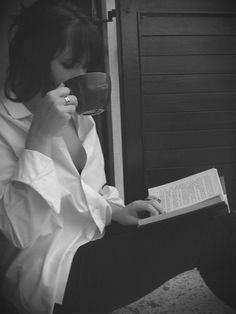 Image result for woman with a book  tumblr