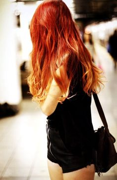 stylish red to blonde ombre hair extensions red to blonde ombre hair extensions for women