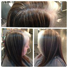 hair on pinterest gray hair grey hair styles and silver highlights
