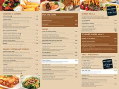 Iconic Lowestoft Food Menu