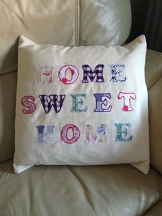 Photo: !!NEW!! Home Sweet Home cushions!! Only £15 with cushion inner! Can post and do local deliveries!!