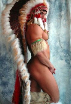 native american men nude