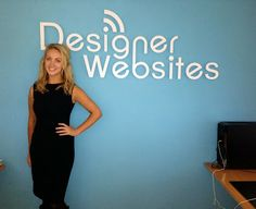 The Designer Websites studio recently had a visit from Apprentice winner Dr Leah Totton! We're working on her brand business new website which will be going live shortly...  #apprentice #website #design