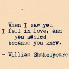 So, my husband realized (and verified) this is not a Shakespeare quote (smartypants!), but I love it just the same.