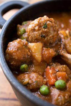 Spicy Albondigas Stew by Christy Scripps