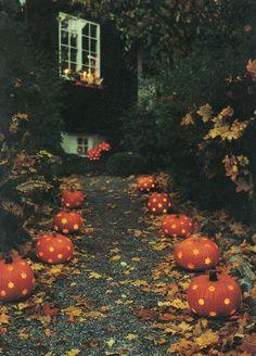 Spooky Halloween Walkway