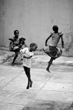 """Free the child's potential, and you will transform him into the world."" -Maria Montessori. Lagos, Nigeria"