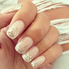 Sparkle nails look the best and this light pink colour would go with the theme of my whole outfit and with the little hints of pink everywhere. $50