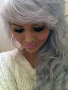 ash grey hair on pinterest grey highlights hair grey brown hair and medium ash blonde