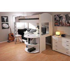 Student Rental Bed Ideas On Pinterest Corner Computer