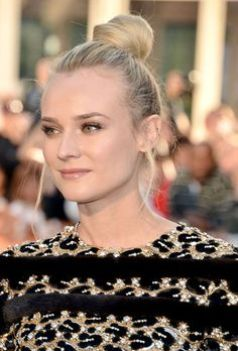 The 12 Best Holiday Hair Looks - Aim High as seen on Diane Kruger