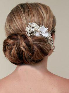 hair es the bride on pinterest