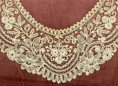 Bobbin lace such as the kind Queenie (played by Linda Bassett) makes on Lark Rise to Candleford, BBC drama.