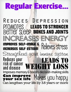 Benefits of Regular Exercise  www.UrbanStudioNashville.com