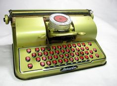 Vintage Toy Typewriter (1950's)