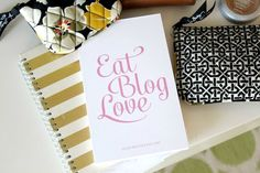 cute blogging notepad!