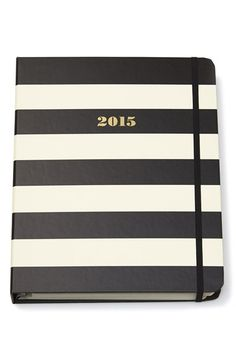 chic stripes journal