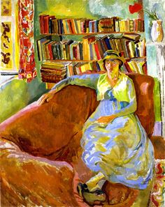 Vanessa Bell at Charleston / Duncan Grant - 1917