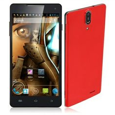6 Inch Android 4.2.1 MTK6589T Quad Core SmartPhone with Bluetooth,WiFi,3G,GPS(16G)