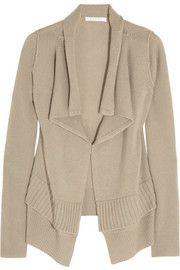 DuffyDraped cashmere cardigan
