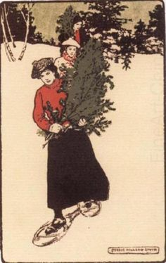 Gathering Greens, Jessie Willcox Smith