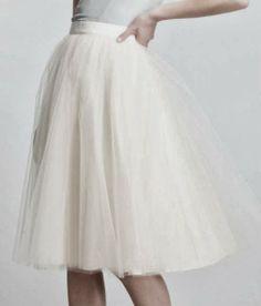 Une jolie jupe de danseuse étoile pour aller avec les Bagllerina !