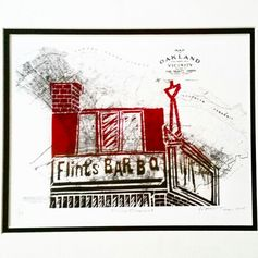 Flints Oakland, 2015 Lino, 8