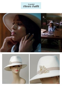 "Scandal Season Finale 222: Olivia Pope's (Kerry Washington) Louise Green ""Danny"" in winter white #tvfashion #outfits #fashion #style"