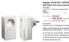 24,90 euros les 2 adaptateurs CPL Netgear – de nouveau dispo - http://www.bons-plans-malins.com/moins-25-euros-les-2-adaptateurs-cpl-netgear-nouveau-dispo/ #High-tech