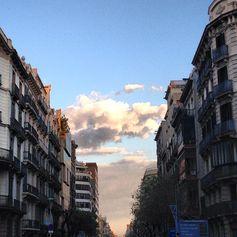 Carrer de Pau Claris en Barcelona, Cataluña