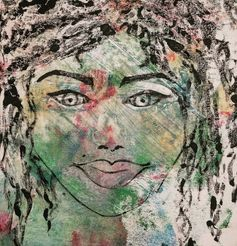 Wild Woman, 2015 Monotype, 5